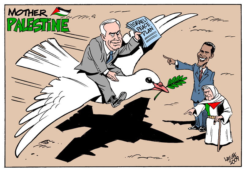 Mother Palestine Israeli Peace By Latuff2