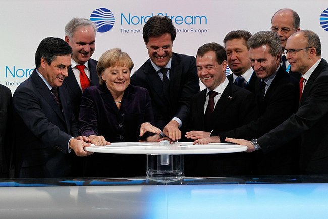 Nord Stream Ceremony